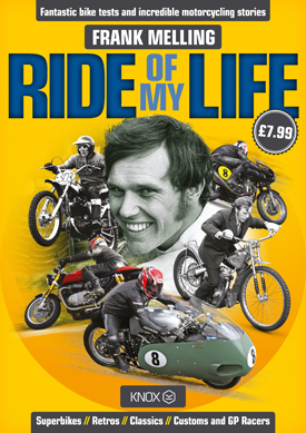 The Ride of My Life - Book Front Cover
